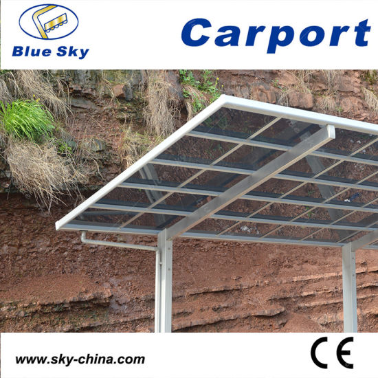 Durable Portable Polycarbonate and Aluminum Carport Car Shelter (B800-2) pictures & photos