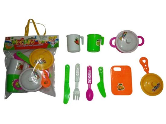 Mini Kitchen Cooking Set Toy for Kids pictures & photos