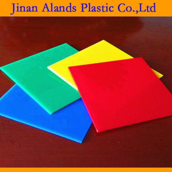 China Transparent Color Acrylic PMMA Sheet for Design and Display ...