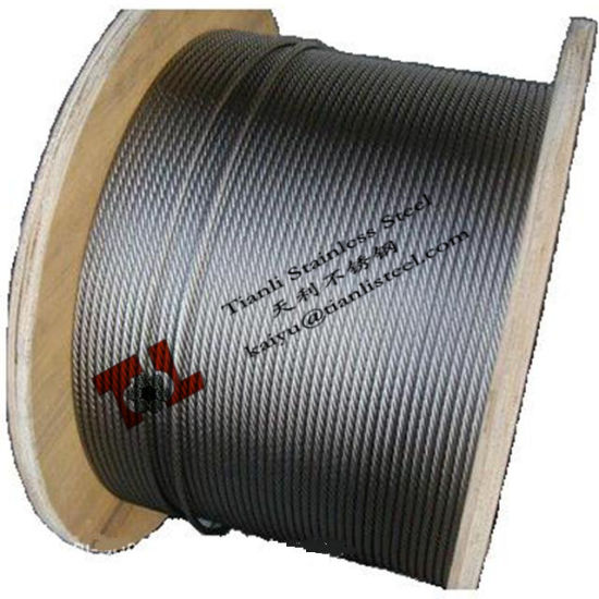 7X37 Stainless Steel Wire Rope 304 316 pictures & photos