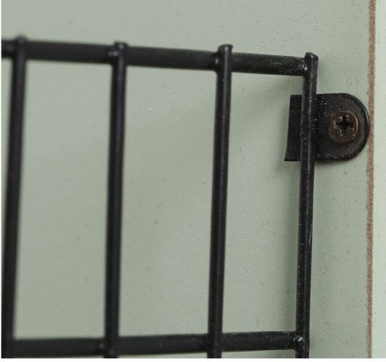 Home Furniture Decoration Wall Rack Iron Wall Wood Frame Storage pictures & photos