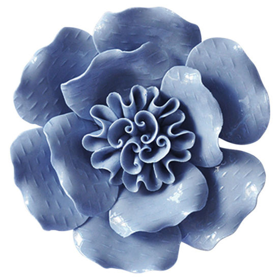 Wall Sculptures Room Ornaments Handmade Ceramic Flowers for Home Decoration pictures & photos
