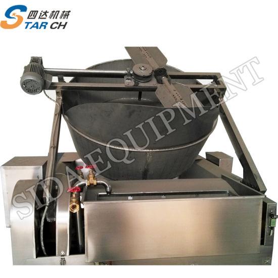 1000L Gas Type Garri Frying Machine  Garri Fryer for Garri Processing  Machinery