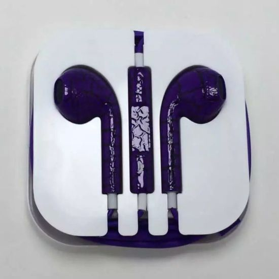 Wholesale Hot Sale Crack Style Earphone for iPhone 5/6 pictures & photos