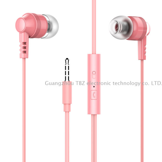 High Quality 3.55mm in-Ear Wired 2in1 Headphone for Nokia&iPhone