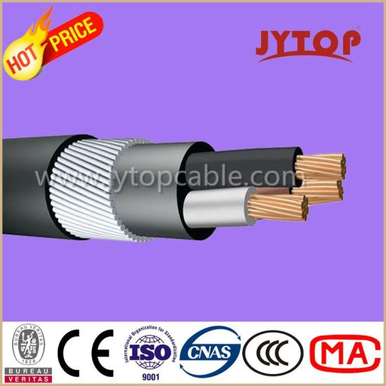 China Yvz2V (NYRY) Copper Cable, 0.6/1 Kv PVC Insulated Round Steel ...