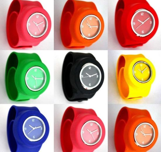 Hotsale Colorful Silicone Wristband Jelly Watch for Promotional pictures & photos
