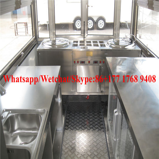 Promotion Shawarma Mobile Food Truck for Sale pictures & photos