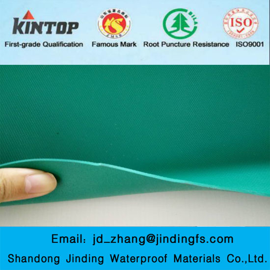 Steel Structure Roof PVC Waterproof Membrane pictures & photos
