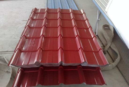 Color -Coated Corrugated Galvanized Steel in Coil /Sheet PPGI pictures & photos