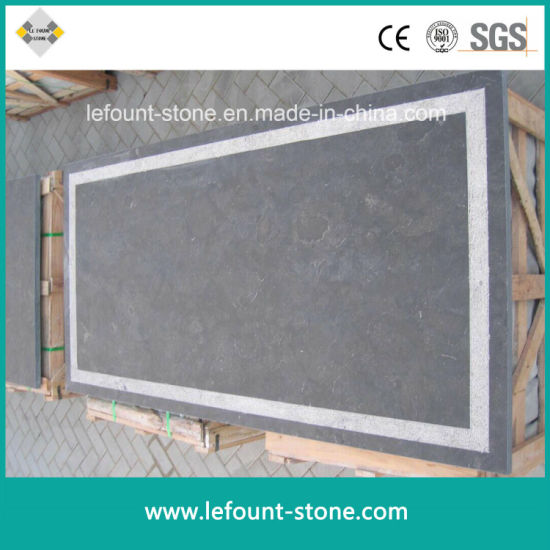 Honed Chinese Natural Blue Stone for  Paving/Patio/Flooring/Curbstone/Kerbstone/Wall Cladding/Pool Edge/Window  Sills/Bricks