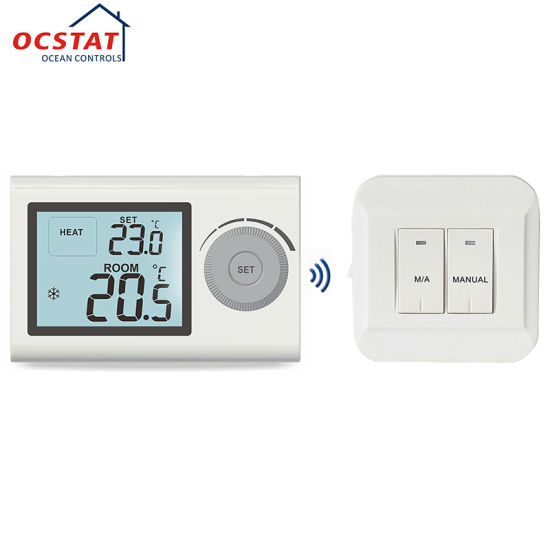 China Home Heating System Wireless Thermostat for Boiler - China ...