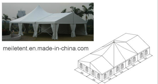 15X35m Special Design Wedding Tent with Glass Wall Decoration pictures & photos