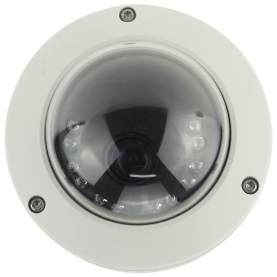 IP67 Outdoor Hybrid Coaxial IP Dome Webcam Camera with Side Mounting Ceiling Bracket
