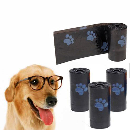 2019 New Products 100% Biodegradable Colorful Plastic Dog Poop Bags