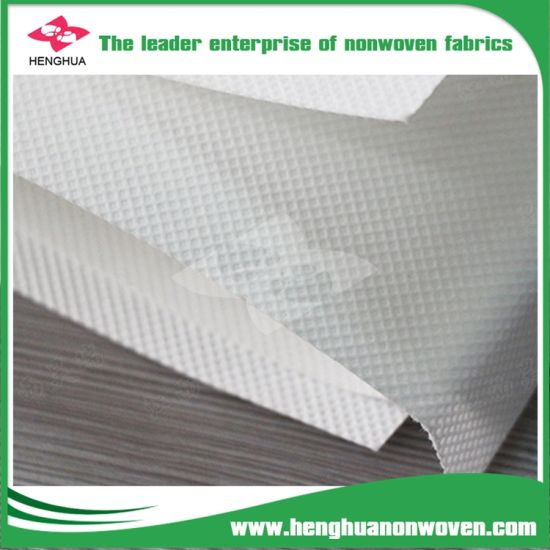 Medical Mouth Muffle Face Mask Non Woven Fabric PP Spunbond Polypropylene Fabric Roll pictures & photos
