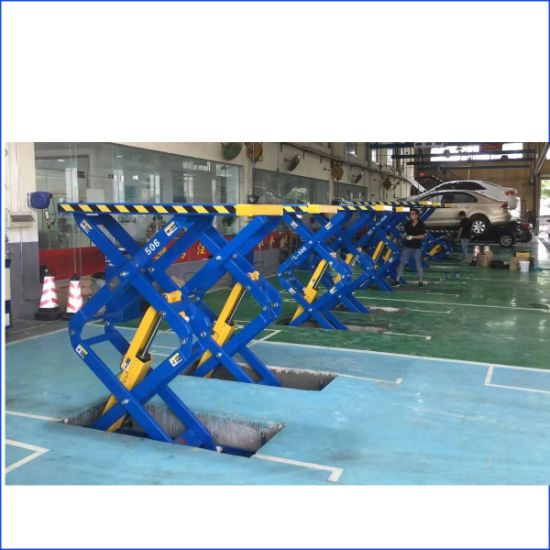 Two Post Car Lift Auto Scissor Lift Used Car Scissor Lift for Sale