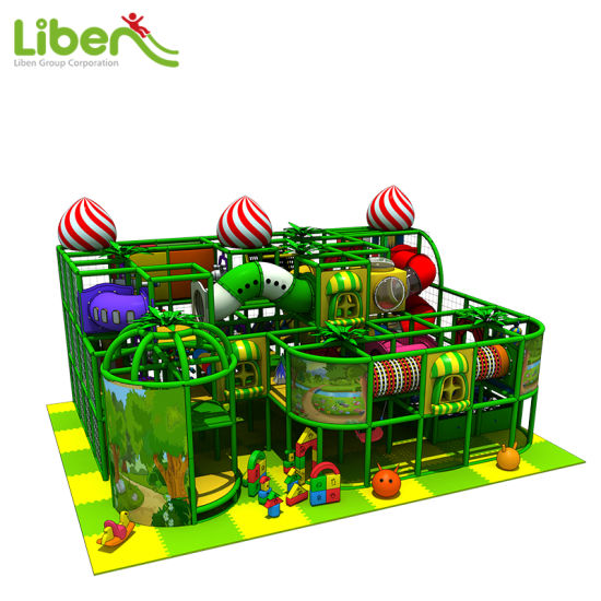 China Liben High Quality Used Indoor Soft Kids Play Structure pictures & photos