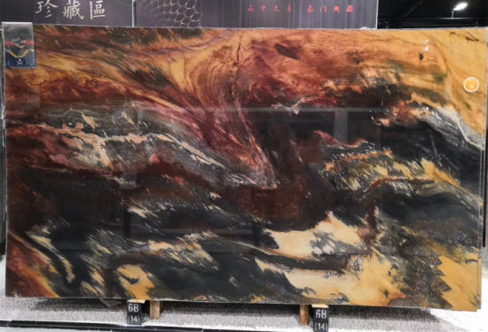 Natural Stone Jacaranda Granite Slabs Tiles for Floor Wall pictures & photos