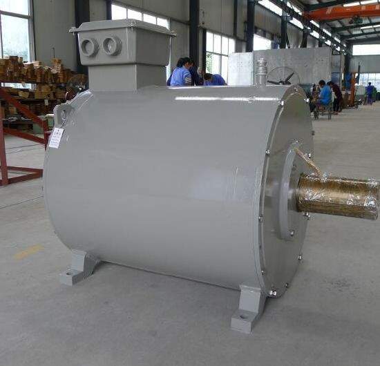 High Voltage Efficiency 3300V 1MW 2MW 5MW Magnetic Motor Generator for  Steam Turbine Gas Turbine