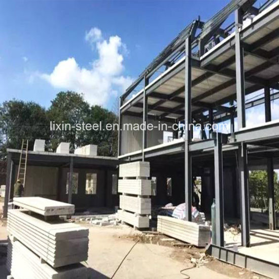 Comfortable Prefabricated House Steel Frame Building Steel Structure House