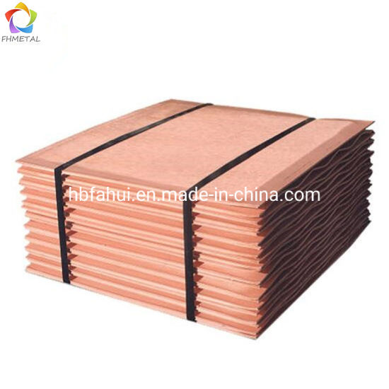 99 99% Copper Cathode and Electrolytic Copper for Sale