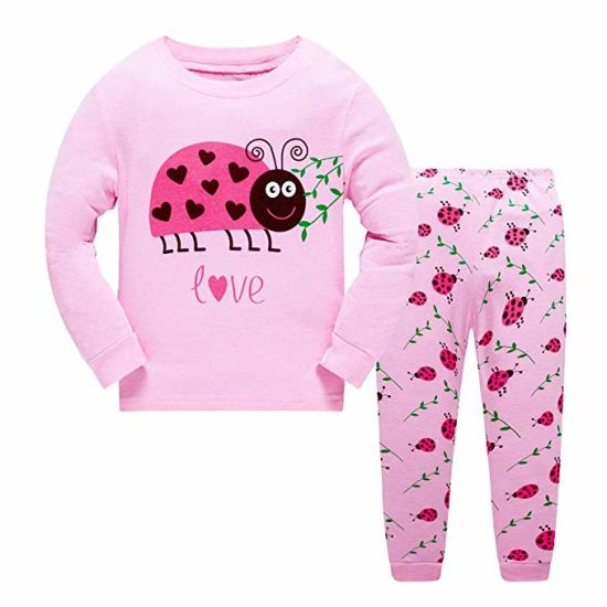 Little Baby Clothing Pajama 100% Cotton Giraffe Children Sleepwear pictures & photos