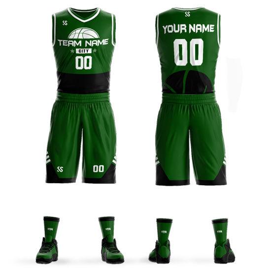 Wholesale Custom Sportswear Sublimation Basketball Uniform Jerseys