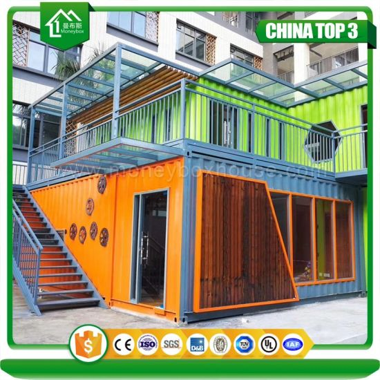 Customized 20FT Fashion Movable Popular Modular Shipping Container Mobile Restaurant