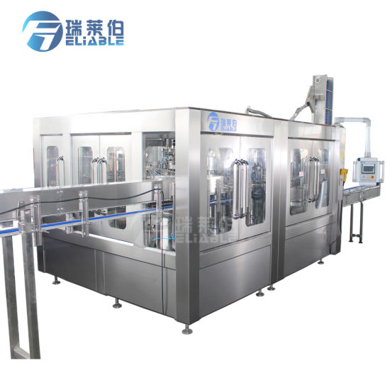 China Auto Soft Drink Gas Water Filler / Filling Machine for