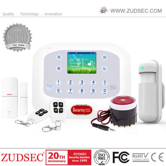 Wireless GSM SMS Home Intruder Alarm System with Somke Sensor