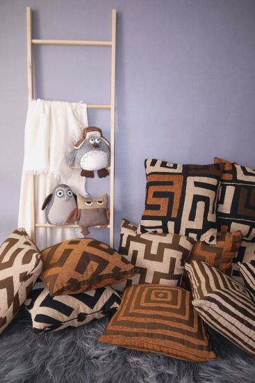 Luxury Chenille Geometrical Cushions Polyester Pillows