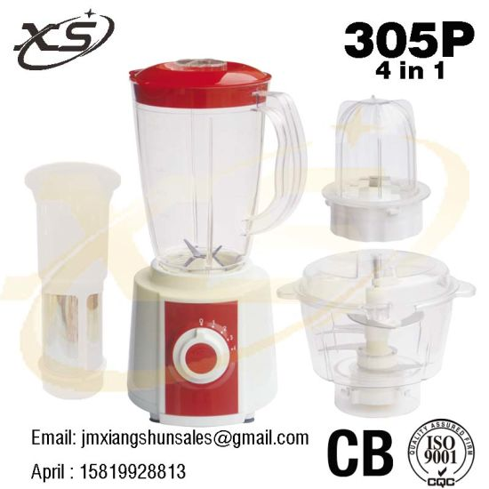 4 in 1 4 Speed Electric Blender for Home Appliance