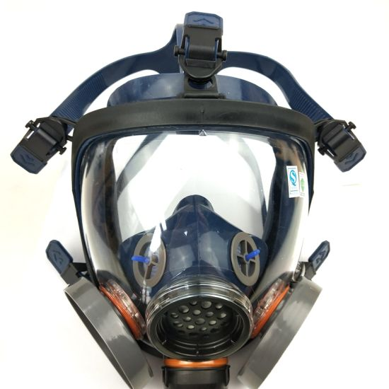 Gas Face With Mask Full Filters Two Military