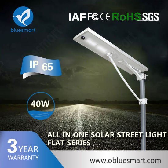 Motion Sensor LED Solar Street Light for Pathway/Coast Areas/Parking Lot
