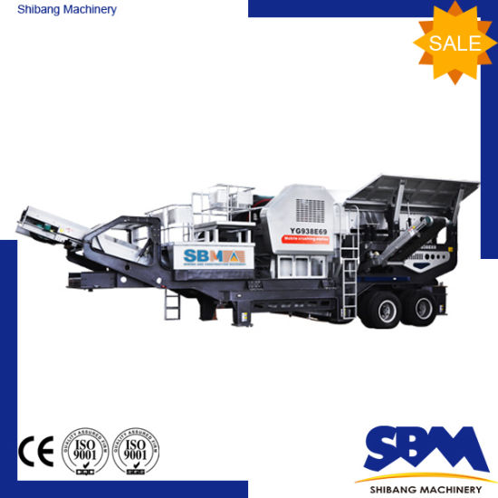 China Factory Promotion Stone Mobile Jaw Crusher pictures & photos