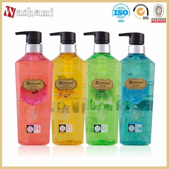 Washami Natural Plant Flowers Professional Skin Care Shower Gel