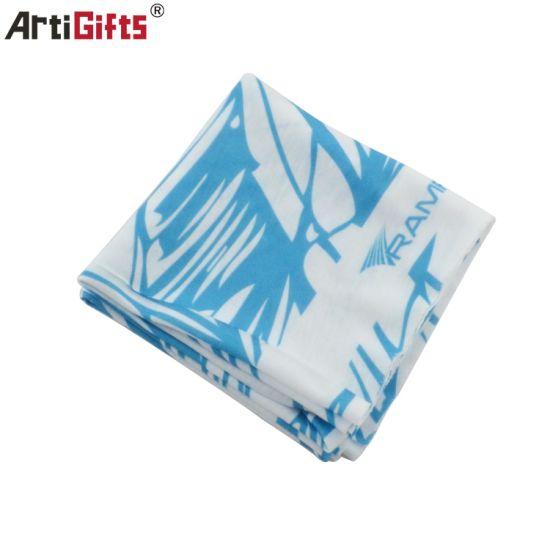 Promotion Polyester Bandana with printing Logo