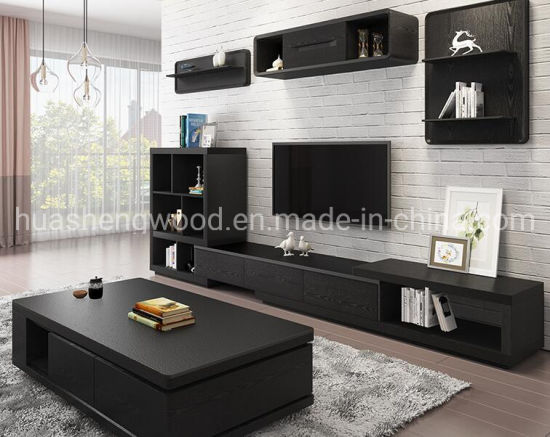 China Simple Modern Nordic Volcanic, Black Living Room Cabinet