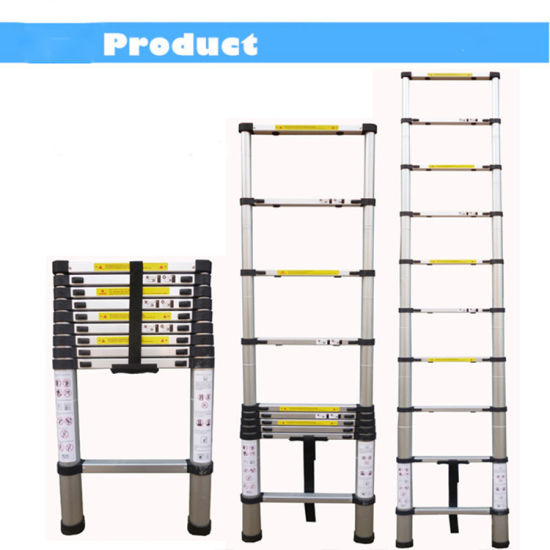 2.9m Aluminum Telescopic Ladder pictures & photos