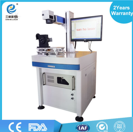 Spi /Max /Raycus/ Ipg 20W Fiber Laser Marking Machine for Metal, Watches, Camera, Auto Parts, Buckles pictures & photos