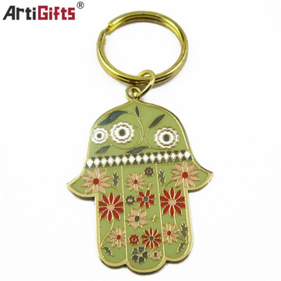 Wholesale Promotion Metal Keychain with Customer Logo pictures & photos
