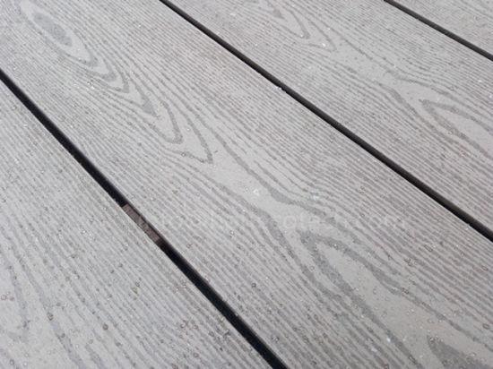 Wood Grain Good Looking Plastic Composite Decking Boards