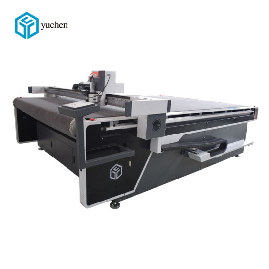 Digital CNC Knife Cutting Machine for Nylon Lace Fabric