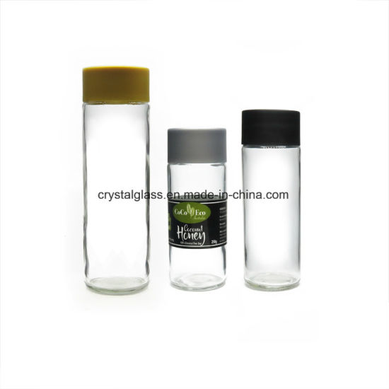 7b794de54d China 500ml Voss Style Mineral Water Glass Bottle with Screw Plastic ...