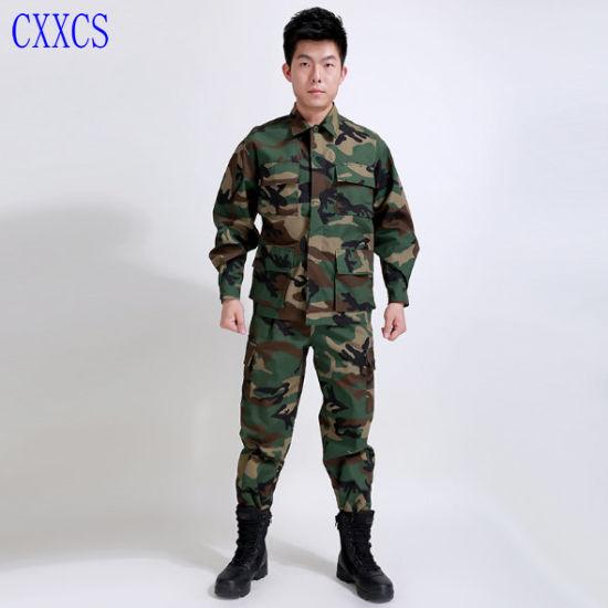 BDU Custom Army Camouflage Military Uniform