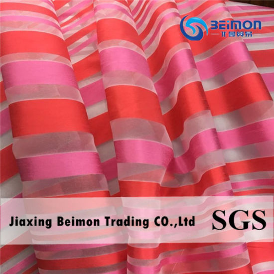 2017 New Yarn Dye Organza for Children Beautiful Dress pictures & photos