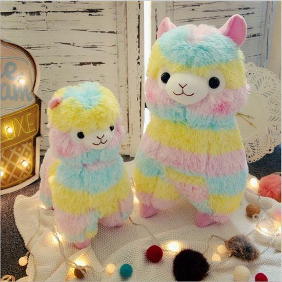 PV Plush Soft Alpaca Toy