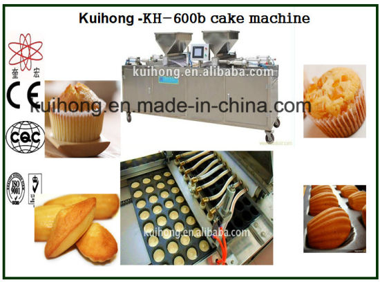 Kh-600 Cup Cake Filling Machine pictures & photos