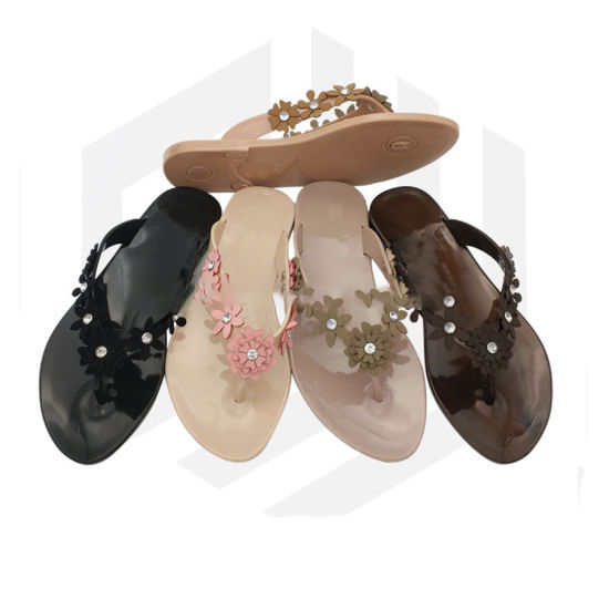 Casual Lady Slippers High Quality Womenshoes Plastic